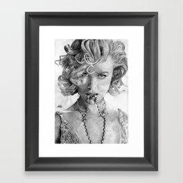 Nikole Kidman Framed Art Print