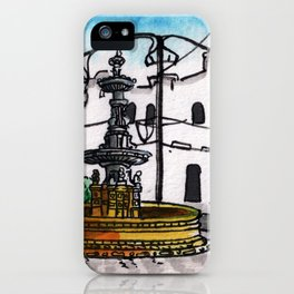 Philippines : Carriedo Fountain iPhone Case