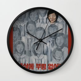 Starvation in North Korea Wall Clock
