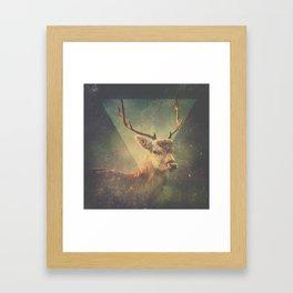 Oh, Deer! Framed Art Print