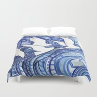 freedom Duvet Covers featuring Freedom by Verismaya