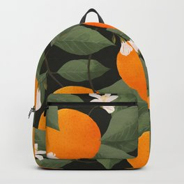 fresh citrus // dark Backpack