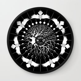 Pursuit of Next, a Tree of Life Wall Clock