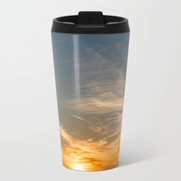 Colourful Sunset - Anglesey, North Wales Travel Mug