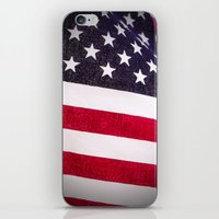 america iPhone & iPod Skins featuring America by Mary Timman