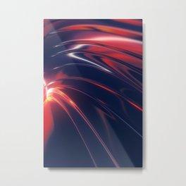 Iridescent Metal Metal Print