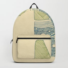 Pattern of the Coast Backpack