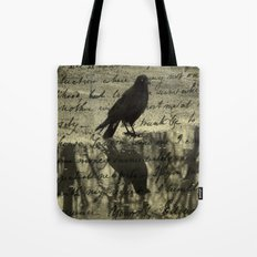 Dark Reflections Tote Bag