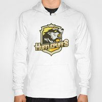 quidditch Hoodies featuring Hogwarts Quidditch Teams - Hufflepuff by Deadround