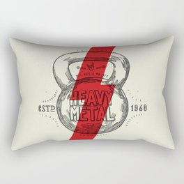 Heavy Metal Rectangular Pillow