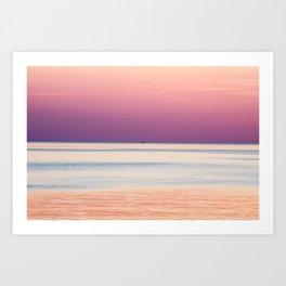 Solo Pink Art Print