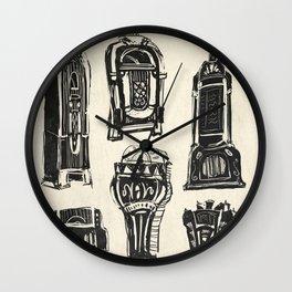 Jukebox Wall Clock