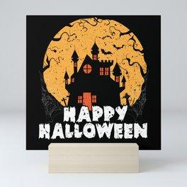 Happy Halloween Horror Scary Monster Ghost Mini Art Print
