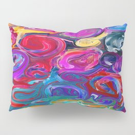 Messy Artist Pillow Sham