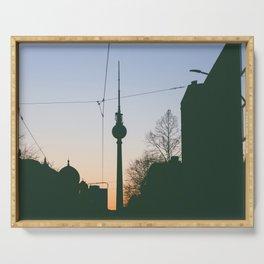 Berlin TV Tower Fernsehturm Serving Tray