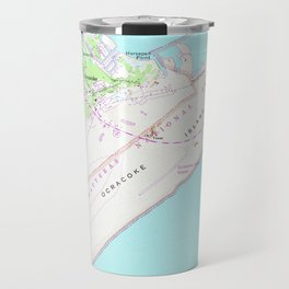 Vintage Map of Ocracoke North Carolina (1948) Travel Mug