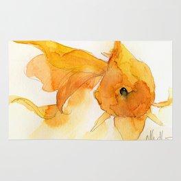 Watercolor Goldfish 1 Rug