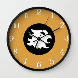 The Cavalier's Shield Wall Clock