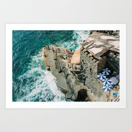 "Travel photography print ""Rocky Beach"" photo art made in Italy. Art Print Art Print"
