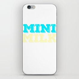 Stay cute and tiny but delicious with this bold tee design. Will absolutely make a perfect gift! iPhone Skin
