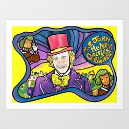 The Dali Wonka Art Print