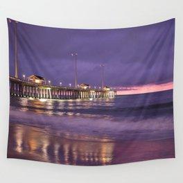 Jennette's Pier At Sunrise In Nag's Head Wall Tapestry