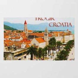 Cityscape of Trogir Croatia Rug