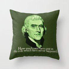 How Much Pain Have Cost Us Throw Pillow