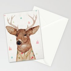 White-tailed deer Stationery Cards
