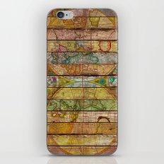 Around the World in Thirteen Maps iPhone Skin