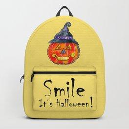 Smile, it's Halloween! Backpack