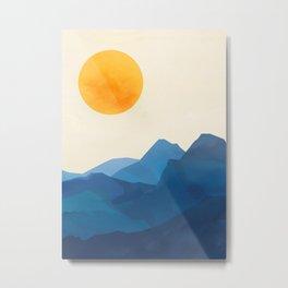 Minimalistic Landscape 15 Metal Print