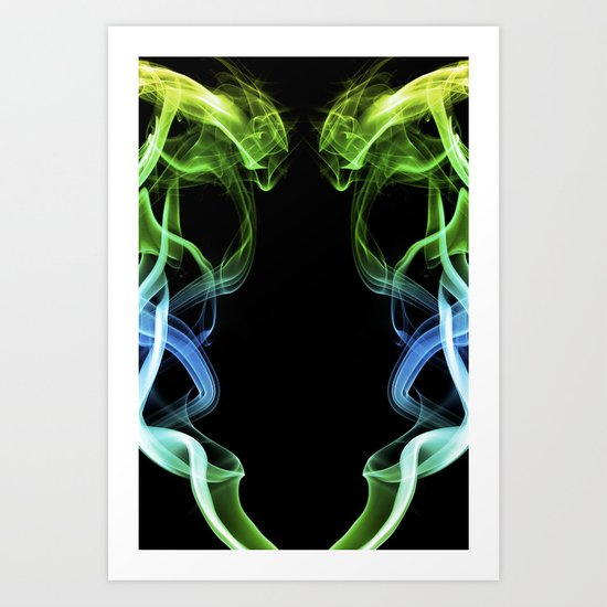 Smoke Photography #34 Art Print