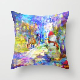 Be Happy in New 2016 Year ! Throw Pillow