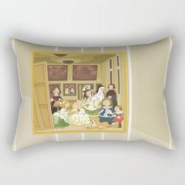 The Maids of Honour by Velázquez (Las Meninas)  Rectangular Pillow