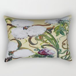 Cotton Squared Rectangular Pillow