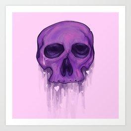 Love is Dead Art Print