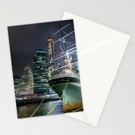Wavertree ship in New York City Stationery Cards