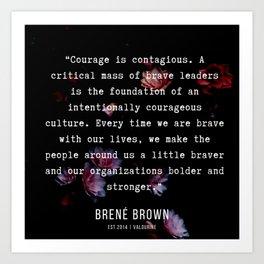 39   | Brene  Brown Quotes  | 190717 | Art Print