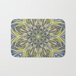 Colorful Center Swirl Bath Mat