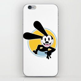 Oswald The Lucky Rabbit iPhone Skin