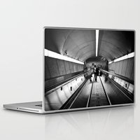 montreal Laptop & iPad Skins featuring Montreal Subway | Métro de Montreal by Simon Laroche