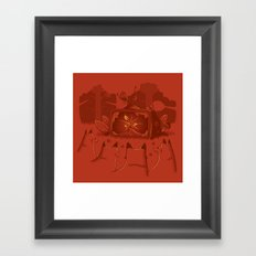 Life on air Framed Art Print