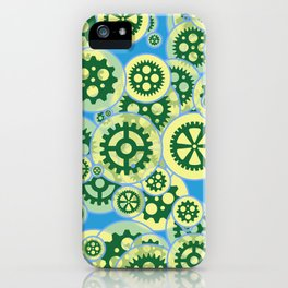 Gearwheels iPhone Case