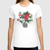 perfume T-shirts featuring Making perfume by Yuliya