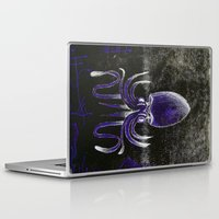 squid Laptop & iPad Skins featuring Squid by Sara Pfefer