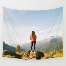 On Top of the World Wall Tapestry