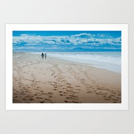 Hossegor- France - 2013 Art Print