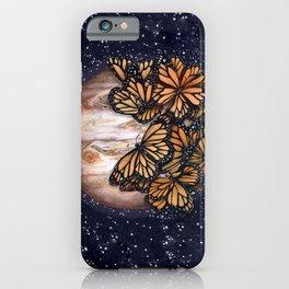 Jupiter's Butterflies Colour Version iPhone Case