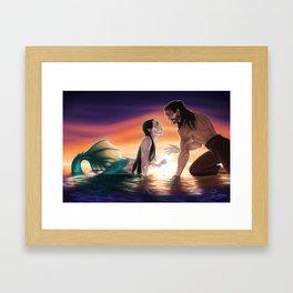 Bride of the Sea Framed Art Print